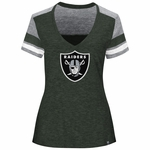 Raiders Majestic Women�s Classic Moment Tee