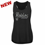 Raiders Majestic Women's Midas Touch Tank