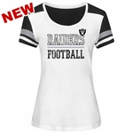 Raiders Majestic Women's Moment of Momentum Tee