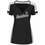 Raiders Majestic Women�s Pride Playing Tee