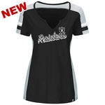 Raiders Majestic Women's Pride Playing Tee