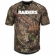 Raiders Majestic Woods Tee