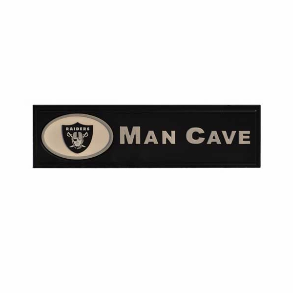 Raiders Man Cave Sign