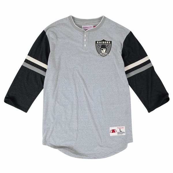 Raiders Mitchell & Ness Home Stretch Henley 2.0