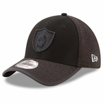 Raiders New Era 39Thirty 2017 Training Camp Charcoal Cap