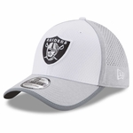 Raiders New Era 39Thirty 2017 Training Camp White Cap