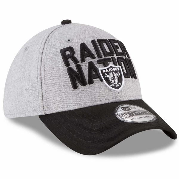 Raiders New Era 39Thirty 2018 On Stage Draft Cap