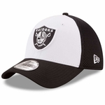 Raiders New Era 39Thirty Heather Neo Cap