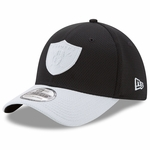 Raiders New Era 39Thirty Logo Surge Cap