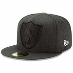 Raiders New Era 59Fifty Jumbo Heather Cap