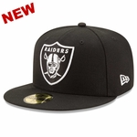Raiders New Era 59Fifty League Basic Fitted Cap