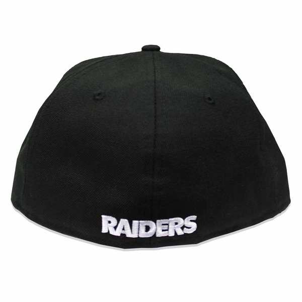 Raiders New Era 59Fifty Pirate Logo Black Cap