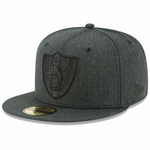 Raiders New Era 59Fifty Total Tone Fitted Hat