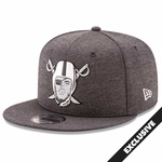 Raiders New Era 9Fifty Chrome Pirate Cap