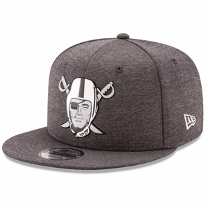 Raiders New Era 9Fifty Chrome Pirate Cap - Click to enlarge