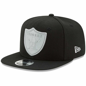 Raiders New Era 9Fifty Flash Black Snapback - Click to enlarge