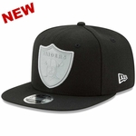 Raiders New Era 9Fifty Flash Black Snapback