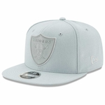 Raiders New Era 9Fifty Flash Grey Snapback