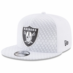 Raiders New Era 9Fifty Official 2017 Sideline Color Rush Cap
