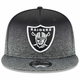 Raiders New Era 9Fifty Shadow Fade Cap