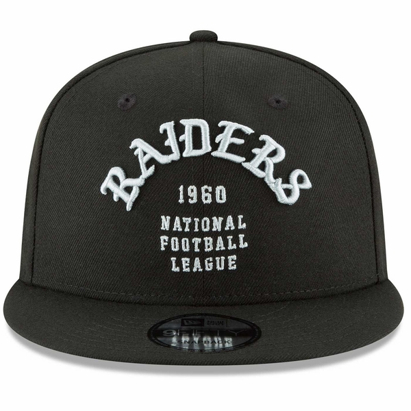 Raiders New Era 9Fifty Team Deluxe Cap