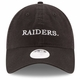 Raiders New Era 9Twenty Women's Team Stated Black Cap