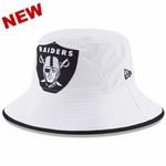 Raiders New Era Fearless Fan Bucket Hat