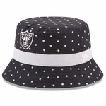 Raiders New Era Infant Dotted Bucket Cap