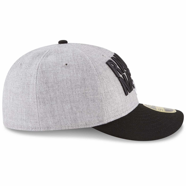 Raiders New Era Low Profile 59Fifty 2018 On Stage Draft Cap