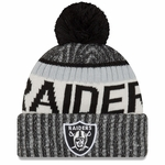Raiders New Era Official 2017 Sideline Cold Weather Knit