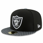 Raiders New Era Official 2017 Youth Sideline Cap