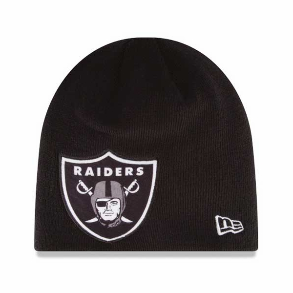Raiders New Era Oversizer Knit Hat