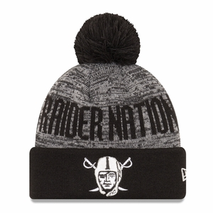 Raiders New Era Pirate Team Blizzard Knit - Click to enlarge