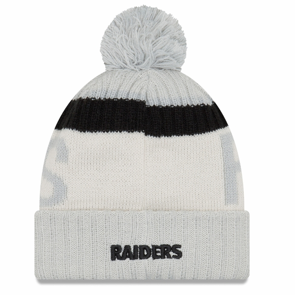 Raiders New Era Reverse Color Sport Knit