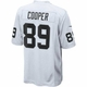 Raiders Nike Amari Cooper Game Jersey White