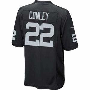 Raiders Nike Gareon Conley Black Game Jersey - Click to enlarge