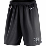 Raiders Nike Black Knit Shorts