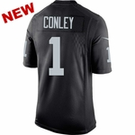 Raiders Nike Gareon Conley Black Limited Jersey