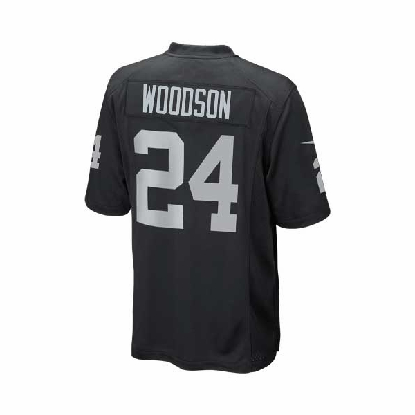 charles woodson signed raiders jersey
