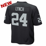 Raiders Nike Juvenile Black Game Jersey