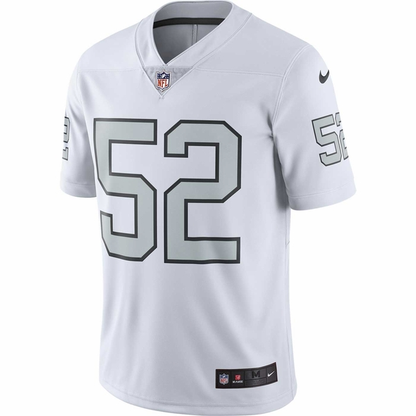 Raiders Nike Khalil Mack Color Rush Limited Jersey