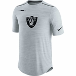 Raiders Nike Player Silver Tee