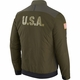 Raiders Nike Salute to Service Bomber Jacket