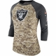 Raiders Nike Salute to Service Women's Legend Tee