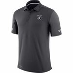 Raiders Nike Team Issue Charcoal Polo