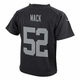 Raiders Nike Toddler Khalil Mack Black Game Jersey