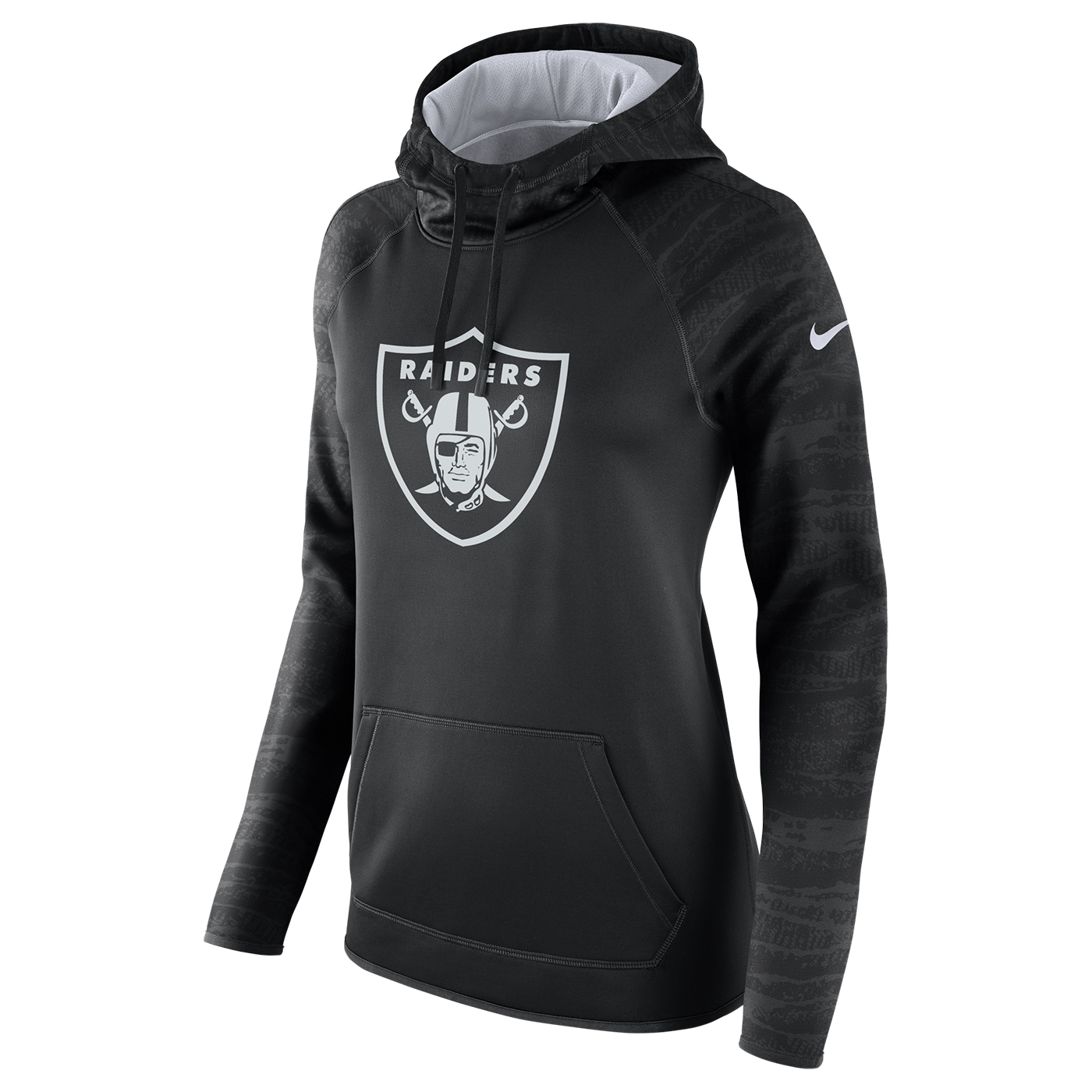 Raiders Nike Women's All Time Therma Hood