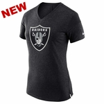 Raiders Nike Women's Fan V Tee