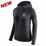 Raiders Nike Women's Vintage Full Zip Gym Hood
