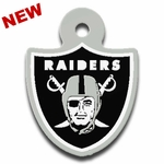 Raiders Shield Zipper Pull